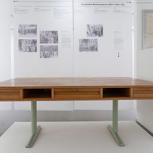 Blick in die Ausstellung Radikaler Modernist, Werke von Mart Stam, 2017 © Der Künstler