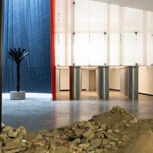 Blick in die Ausstellung Willkommen im Labyrinth, Christian Odzuck, Nieteum, 2018 © VG Bild-Kunst, Bonn 2018 und Christian Odzuck