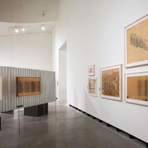 Blick in die Ausstellung mit Werken der Brüder Rasch