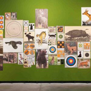 Blick in die Ausstellung Mark Dion, ausgewählte Werke, 2015
