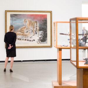 """Ausstellungsansicht der Marta-Ausstellung """"Freundliche Übernahme"""""""