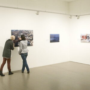 """Ausstellungansicht der Marta-Ausstellung """"52Wochen, 52 Städte"""""""